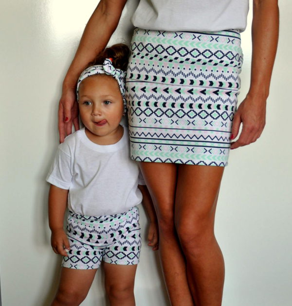 same dress mother and daughter